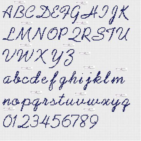 ricamo lettere punto croce amorevitacrocette punto croce alfabeti in corsivo