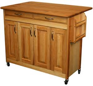 large butcher block island with raised panel doors by catskill craftsmen big island butcher block kitchen cart