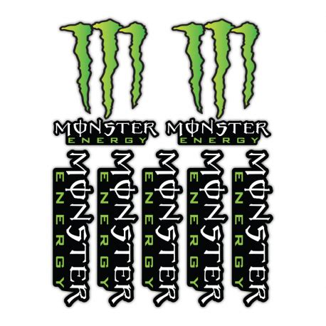Monster Energy Sticker Design by Monster Energy Stickers Clipart Best