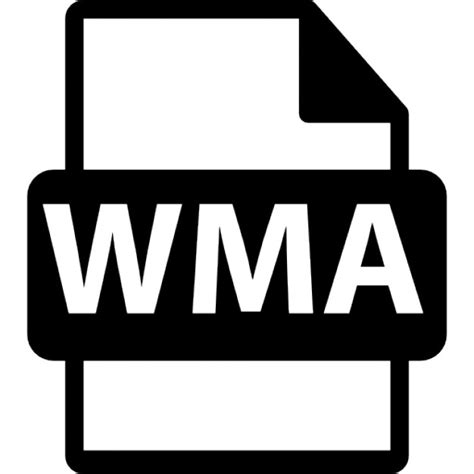 format audio wma wma file format variant icons free download