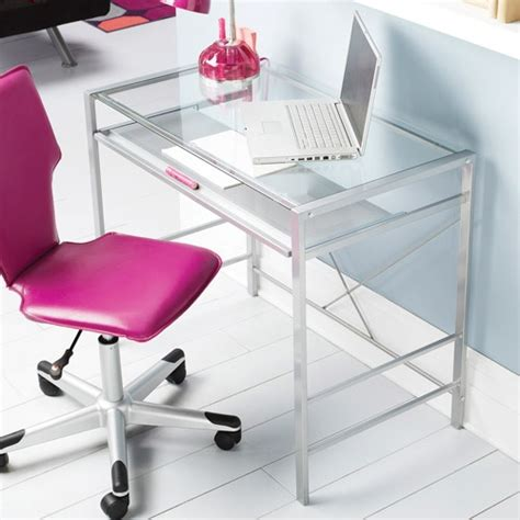 glass desk ideas  pinterest glass office desk home office table  home office