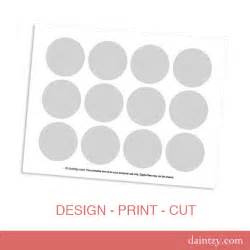 cupcake toppers template instant cupcake topper printable template diy make