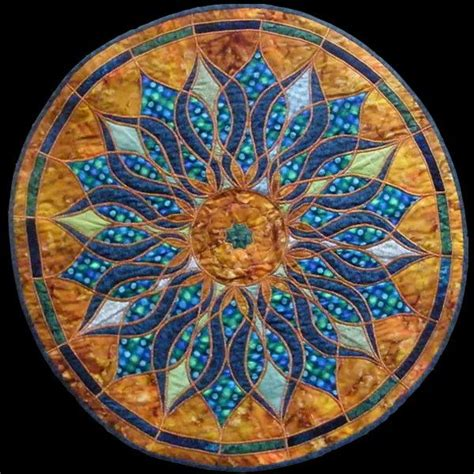mosaic pattern meaning mosaic mandala quilt photo only love the colors quilting