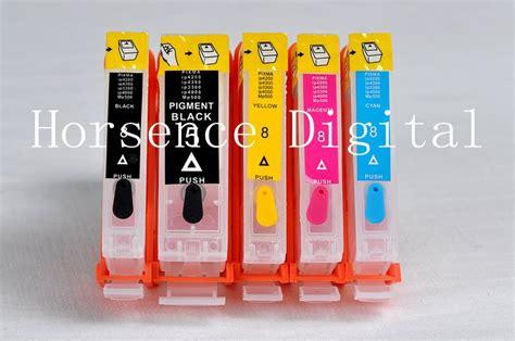 Fast Print Cartridge Ciss Canon Mx700 1 Set pgi 5 cli 8 refillable ink cartridge for canon ix4000