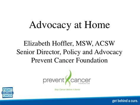 advocacy at home elizabeth hoffler con c2015