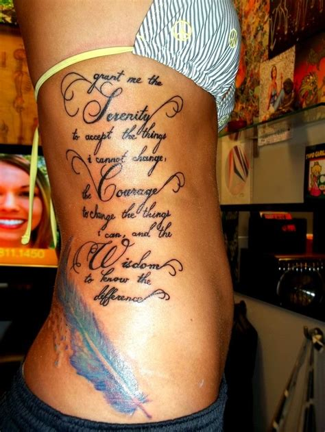 tranquility tattoo designs serenity prayer tattoos designs ideas and meaning