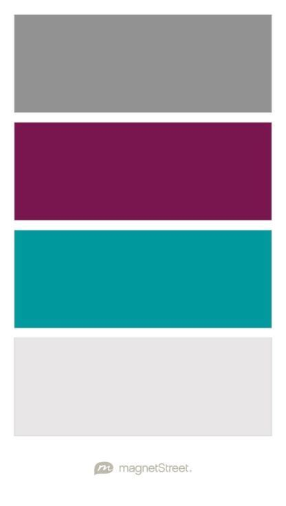 purple and grey color palette for the guest room click classic gray sangria teal and winter white wedding