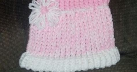 loom knit baby dress baby dress i made knifty knitter accomplished