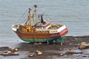 bdo fishing boat stuck on rocks trawler skipper charged with drink sailing after vessel