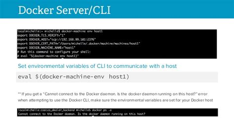 docker cli tutorial up and running with docker