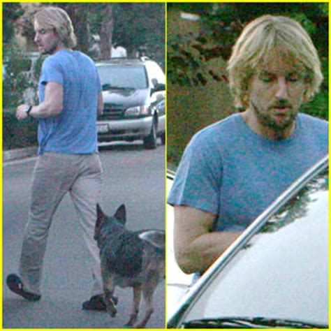 Owen Wilson Returns Home by Andrew Wilson Photos News And Just Jared