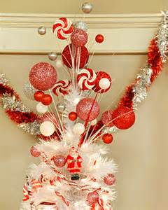 glittered tree topper craft martha stewart