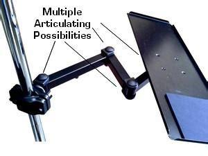 swing arm keyboard tray 24 quot pole or wall keyboard arm 100 metal oceanpointe