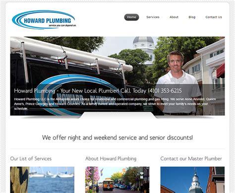 Howard Plumbing by 100 Plumbing Websites For Design Inspiration