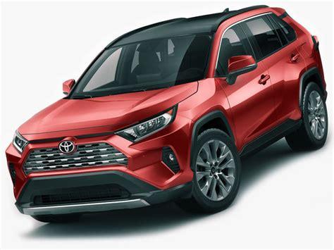 Toyota Models 2019 by 3d Model Toyota Rav4 2019 Cgtrader
