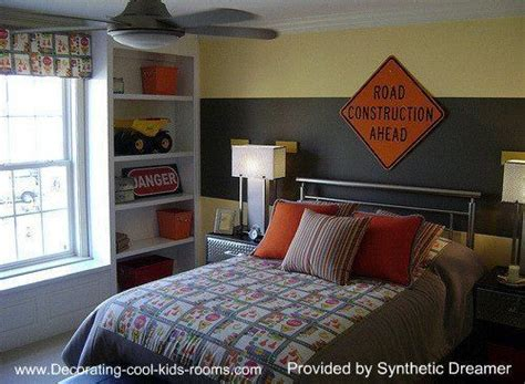 construction themed bedroom pin by laura gonzalez on creative boy bedroom ideas