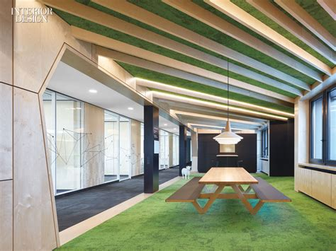interior design work environment architects channel vibrant city parks to create the