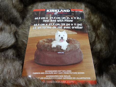 kirkland dog bed costco dog bed new between 30 40 costco kirkland