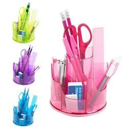 desk pot 13pc office stationery organiser set rotating desk tidy