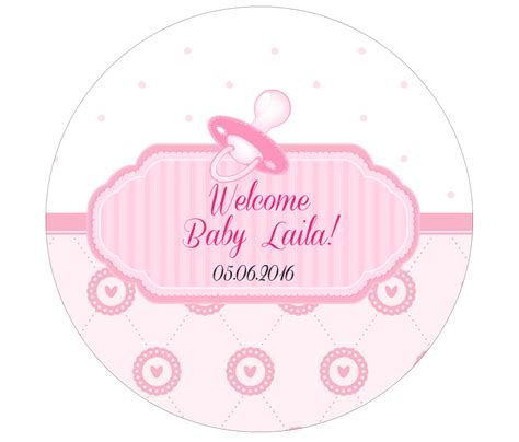 Baby Shower Label Stickers by It S A Vvixci