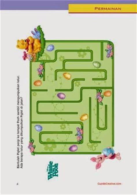Grow With Untuk Sd Kelas V1 permainan anak balita tk sd gambar maze labirin disney winnie the pooh permainan anak