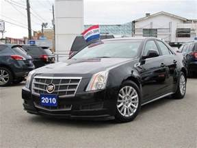2010 Cadillac Cts Gas Mileage 2010 Cadillac Cts 3 0l Base Awd Toronto Ontario Used