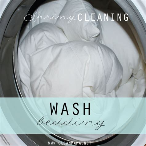 Washing Bed Sheets by Week 4 Clean In 30 Clean