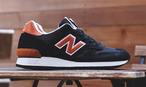 New Balance Black And Orance new balance made in m670 quot black orange quot highsnobiety