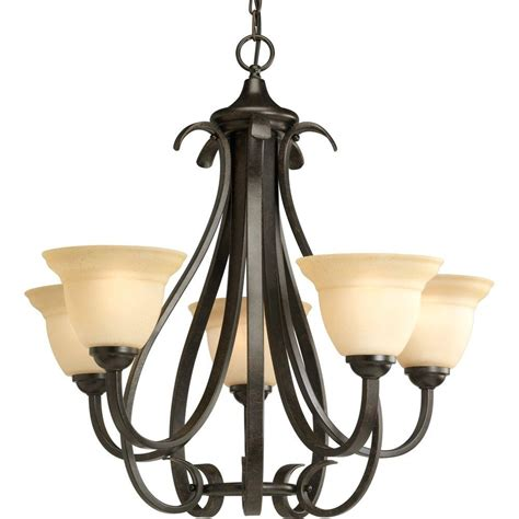 home lighting collections progress lighting torino collection 5 light forged bronze