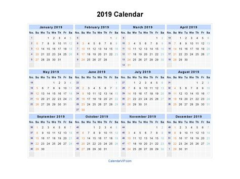 2019 Calendar Excel 2018 Calendar With Holidays 2019 Monthly Calendar Template Excel
