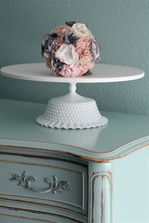 "16"" Wedding Cake Stand Pedestal / Wedding Centerpiece"