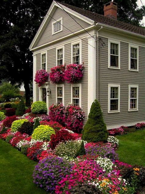 landscaping front yard flower garden decoredo