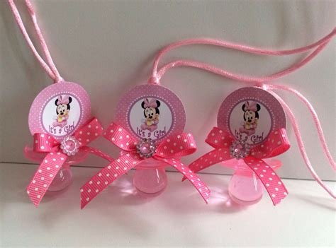 Minnie Mouse Baby Shower Theme by Minnie Mouse Baby Shower Pacifiers Minnie Mouse Baby Shower