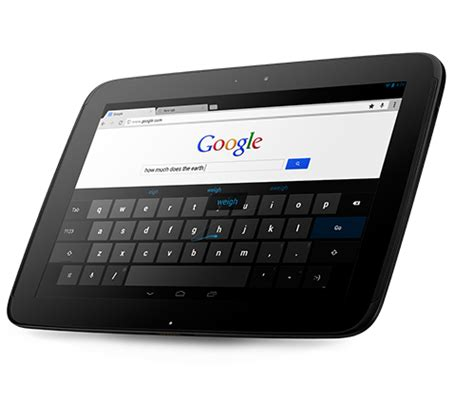 nexus 10 review google 10in android tablet pc advisor