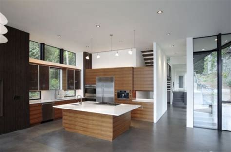 Concrete Floors Both A Statement And A Functional Choice Concrete Kitchen Floor