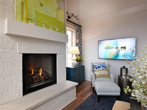 Small Brick Fireplaces by Small Painted Brick Fireplace Paint Inspirationpaint