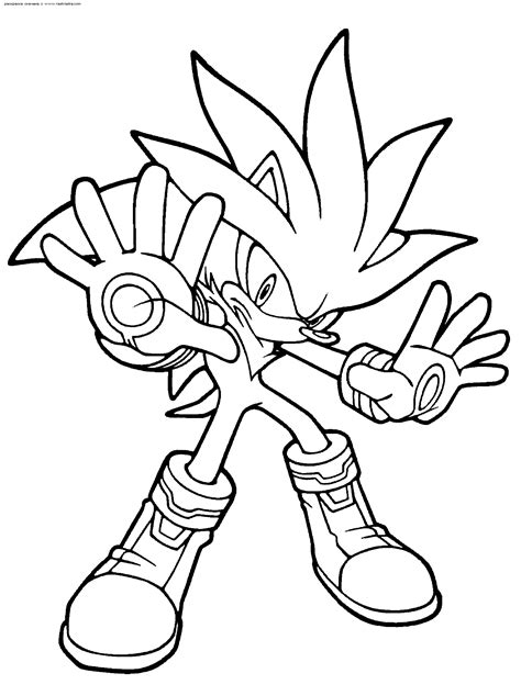 sonic coloring pages 4 coloring kids