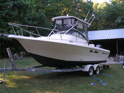 fishing boat for sale done deal 2002 pro line 25 walk the hull truth boating and