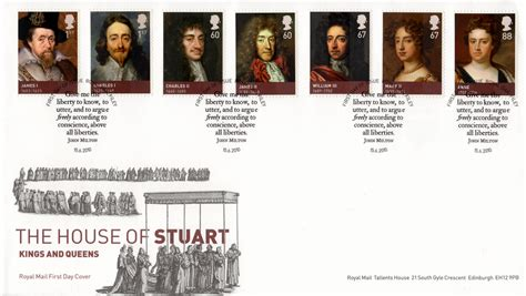 house of stuart british sts for 2010 collect gb sts