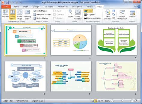 tutorial powerpoint english english learning skills presentation exle