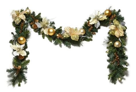 Decoration For A Banister Christmas Garland Decorations Letter Of Recommendation