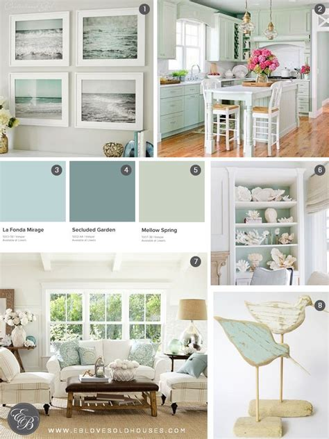 seafoam green home decor 309 best luxe home beach house images on pinterest