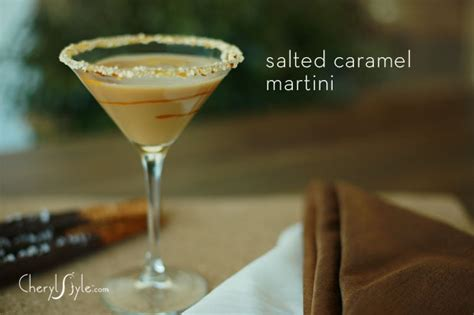 Salted Caramel Martini Recipe Everyday Dishes Diy