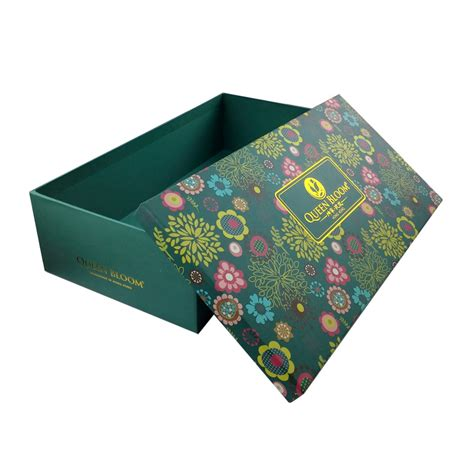 custom cardboard decorative christmas gift box with lids