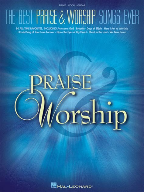 praise and worship songs for church