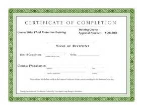 Class Completion Certificate Template by Course Completion Certificate Template Certificate Of