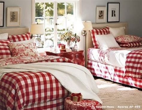 red toile bedroom bedrooms red christmas red and white pinterest
