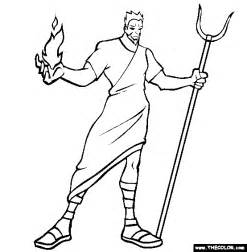 Hades Coloring Pages mythology coloring pages page 1