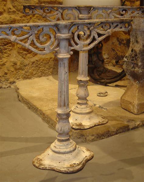 table en fonte tables consoles gueridons artemis eymet