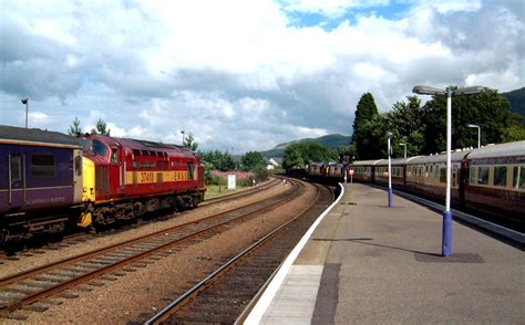 photos from the scottish highland railway lines